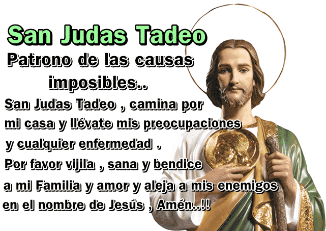 oración san judas tadeo